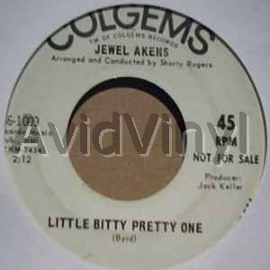 JEWEL AKENS - Little Bitty Pretty One / Born A Loser