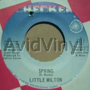 Spring / Just A Little Bit - LITTLE MILTON