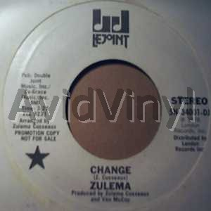 Zulema - Change / Hanging On To A Memory