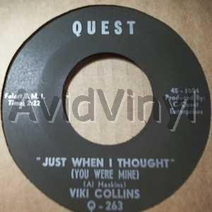 viki collins just when i thought / i love you because you're you