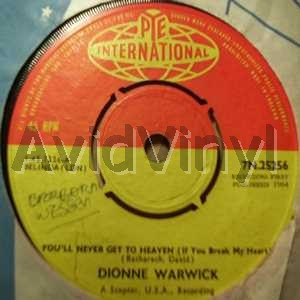 dionne warwick you'll never get to heaven / a house is not a home