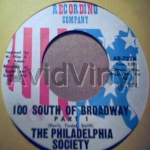 100 SOUTH OF BROADWAY PT2 by THE PHILADELPHIA SOCIETY
