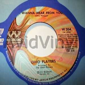 OHIO PLAYERS - I Wanna Hear From You / Pleasure