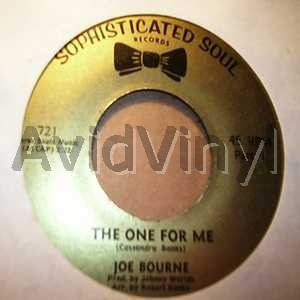 JOE BOURNE - The One For Me / The One For Me Pt2 LP