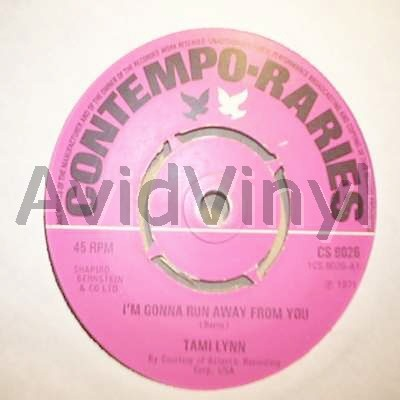 TAMI LYNN - I'M GONNA RUN AWAY FROM YOU / THE BOY NEXT DOOR - 7inch x 1